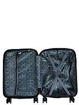 Чемодан пластиковый малый  из поликарбоната чемодан для  ручной клади Madisson с принтом love, фото 2