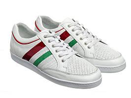 Кросівки Etor 8718-754-491 біло+червоний