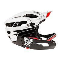 Шлем Urge Gringo de la Pampa бело-чёрный S/M, 55-58 см