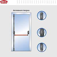 Антипаника для одностворчатой двери 3-мя точками запирания без внешней наружной ручкой (G-U Германия)