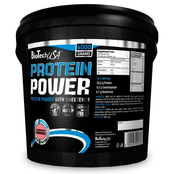 Протеин Биотеч / BioTech Protein Power 4 кг шоколад