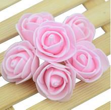 Набор светло-розовых цветочков - 50шт.