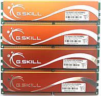 Комплект игровой оперативнойпамяти G.Skill DDR2 8Gb (4*2Gb) 667MHz PC2 5300U CL5 (F2-5300CL5D-4GBMQ) Б/У, фото 1