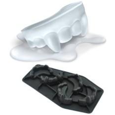 Формочки для льда Зубы