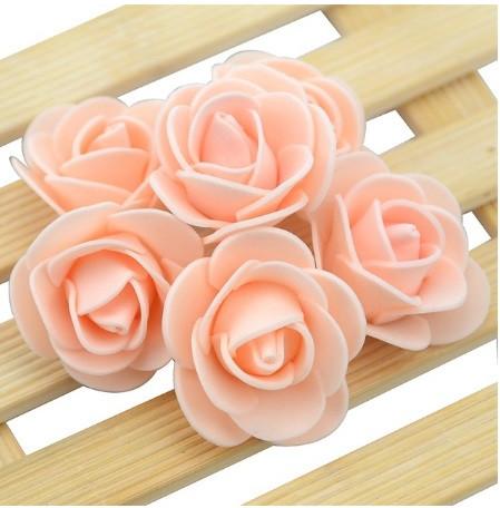 Набор персиковых цветочков - 50шт.