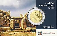 Мальта 2018. Официальный набор €2 - Mnajdra