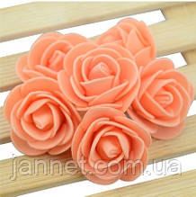 Набор оранжевых цветочков - 50шт.