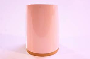 Каблук женский пластиковый 8055 Цвет:пудра р.1-3  h-7,3-7,9 см., фото 3