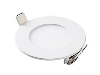 """Світлодіодна панель кругла-3Вт (Ø85""""-Ø72) 6400K, 240 люмен LEZARD"""