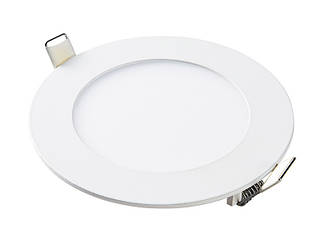 Світлодіодна панель кругла-6Вт (Ø120/Ø107) 4200K, 470 люмен LEZARD