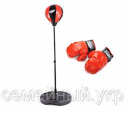 Боксерский набор. Боксерская груша, перчатки. Для детей от 5 лет. PROFI 0333, фото 2