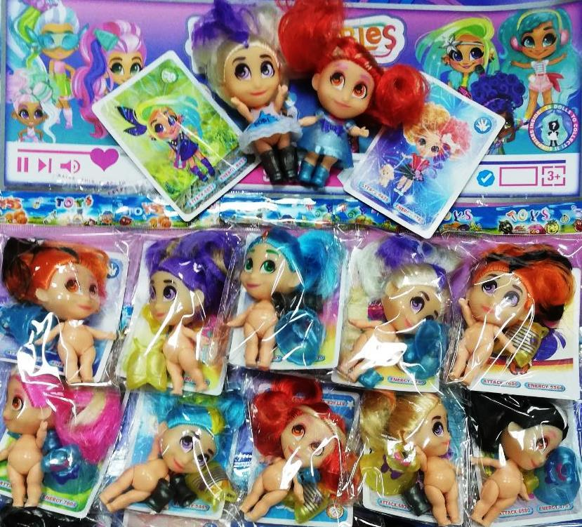 """Кукла с волосами """"HairDorables"""" 2 сезон на листе"""