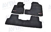 К/с ворс Honda CR-V коврики салона в салон на Хонда СРВ Honda CR-V (2006-2011) /Чёрные Premium