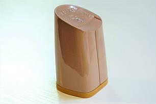 Каблук женский пластиковый 8055 Цвет:кофе с молоком р.1-3  h-7,3-7,9 см., фото 2
