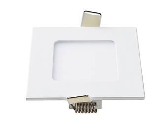 Світлодіодна панель квадратна-3Вт (85x85) 4200K, 240 люмен LEZARD