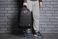 Спортивный рюкзак в стиле Nike черный