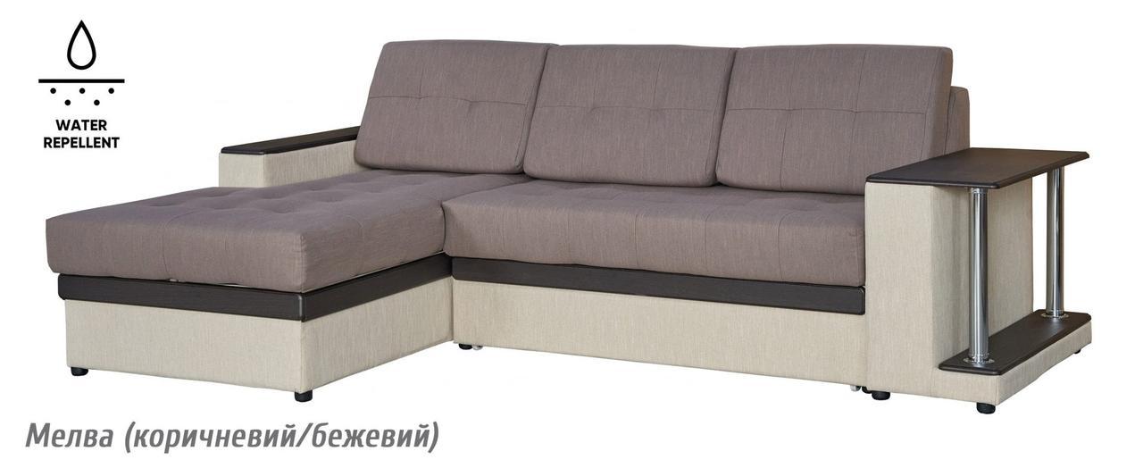 Диван раскладной угловой Орфей (5 вариантов оббивки) Мебель-сервис