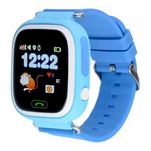 Часы детские Smart Baby Watch Q90 ГОЛУБОЙ