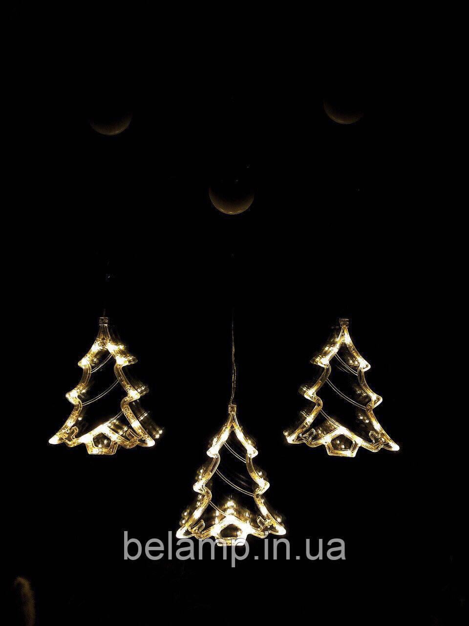 """Новогоднее украшение-гирлянда в виде елочки """"Теплая елочка"""". Цена указана за 1 елочку"""