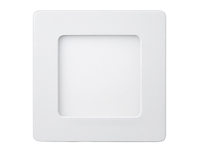 Світлодіодна панель квадратна-6Вт накладна (120x120) 4200K, 470 люмен LEZARD