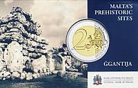 Мальта 2016. Официальный набор €2 - GGANTIJA