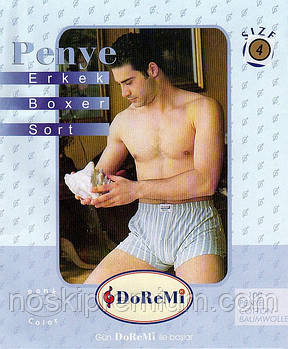 Чоловічі труси сімейні 100% бавовна DoReMi, Туреччина, розмір 4 (50-52)