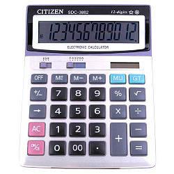 Калькулятор CITIZEN SDC-3882 12 разрядный (двойное питание)