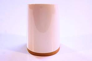 Каблук женский пластиковый 8055 Цвет:слоновая кость  р.1-3  h-7,3-7,9 см., фото 3