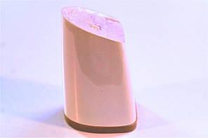 Каблук женский пластиковый 8055 Цвет:слоновая кость  р.1-3  h-7,3-7,9 см., фото 2