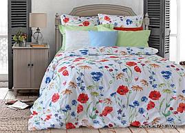 Комплект постельного белья полуторный  АЛЕСЯ (нав. 70*70)