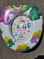 Крышка-адаптер на унитаз детская 29×28 см, фото 1