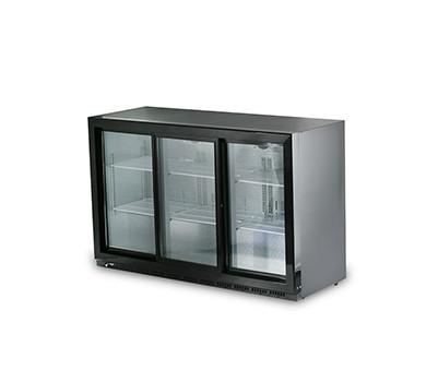 Барный холодильный шкаф HKN-GXDB315-SL