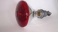 Инфракрасная лампа PAR пресованное стекло 250Вт красная, фото 1