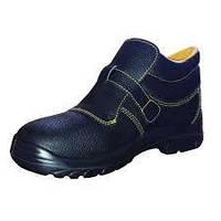 Ботинки сварщика. рабочая обувь с металлическим носком s1