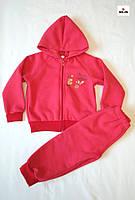Костюм дитячий тепла на блискавці червоний 26-30р.