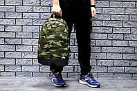 Спортивный рюкзак в стиле Nike камуфляжный