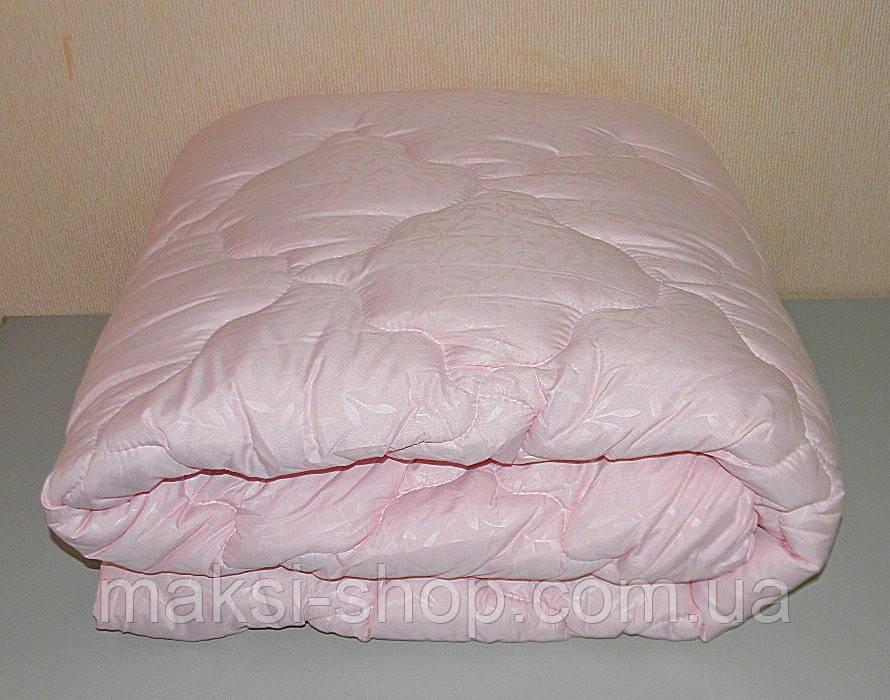 Одеяло полуторное наполнитель холлофайбер ткань микрофибра (Х-441)