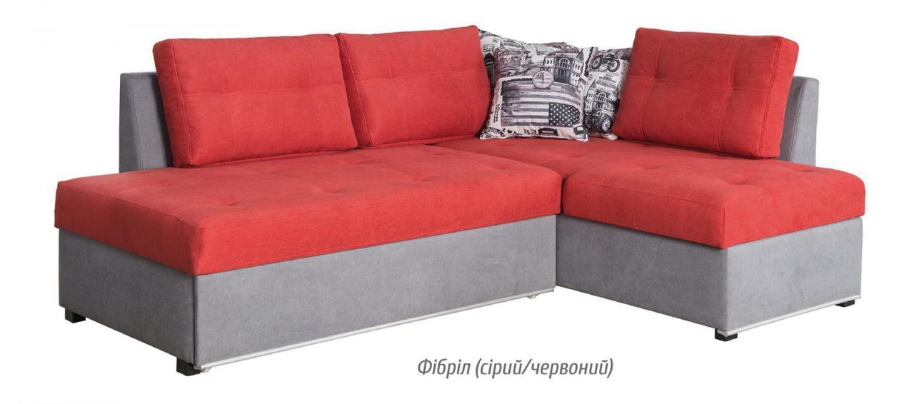 Диван раскладной угловой Ремикс (6 вариантов оббивки) Мебель-сервис