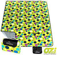 Коврик-плед для пикника Campela CA0017 DOTS 210x180 см