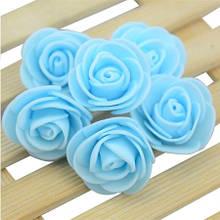 Набор голубых цветочков - 50шт.