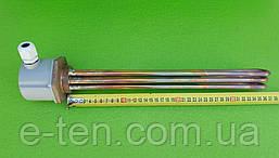 """Блок-тен МІДНИЙ 7500W (220-380V) / на різьбі 1,5"""" (48мм) / довжина L=365мм Thermowatt, Італія"""