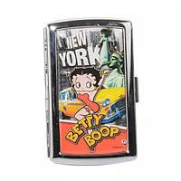 """Портсигар """"Betty Boop в Нью-Йорке"""""""