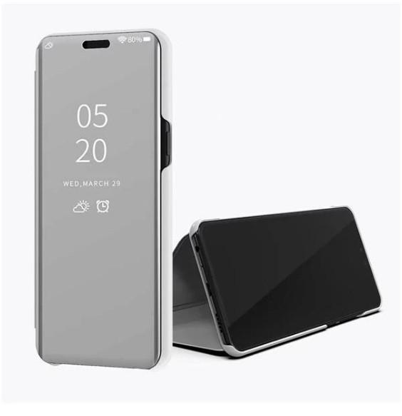 Чохол Mirror для Huawei Y5 2019 книжка Дзеркальна Срібло
