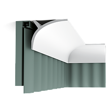 Шторный карниз  Orac Decor C991,лепной декор из полиуретана.