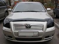 Мухобойка на Тойоту Авенсис 2003-2009 Хик на крепежах