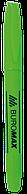 Маркер-текстовыделитель Buromax Jobmax круглый зелёный
