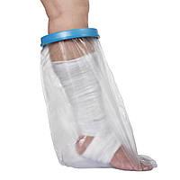 ☀Приспособление для мытья ног Lesko JM19248 защита от воды поврежденных и травмированных участков
