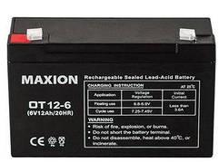 Аккумулятор промышленный  OT MAXION  6-12 (6V,12A)