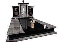 Пам'ятник надгробний гранітний з ритуальною скульптурою F5100, фото 1