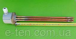 """Блок-тен МІДНИЙ 9000W (220-380V) / на різьбі 1,5"""" (48мм) / довжина L=395мм Thermowatt, Італія"""